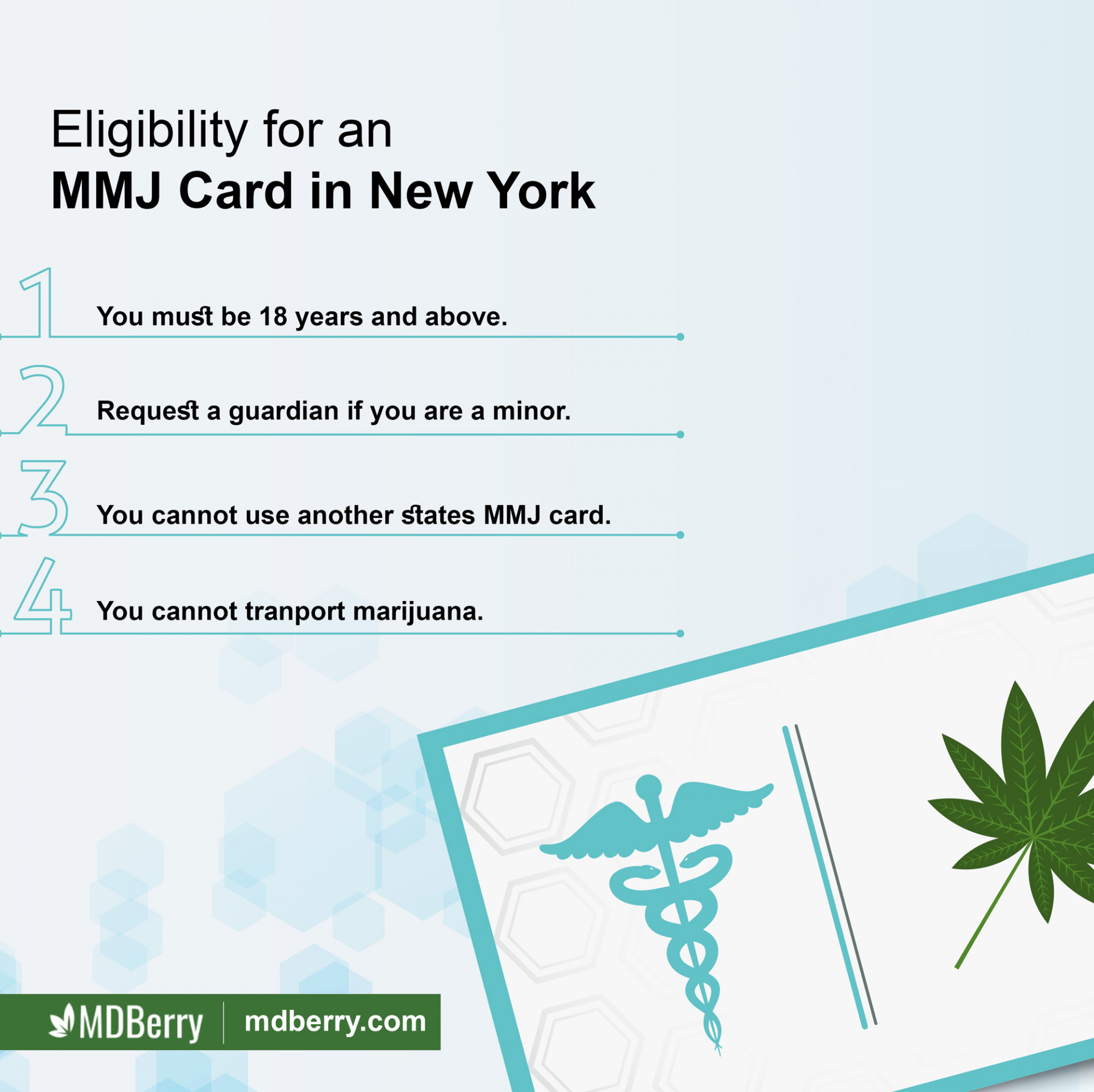 Eligibility for Medical Marijuana Card in New York