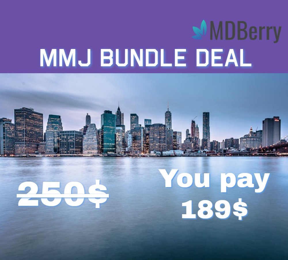 MMJ BUNDLE DEAL IN NY MDBERRY