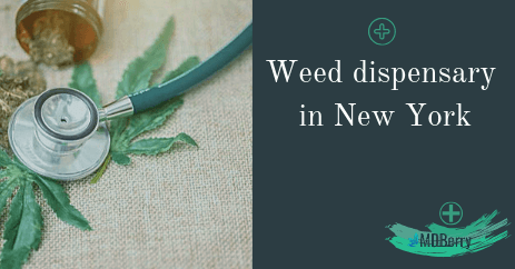 Weed dispensary in New York