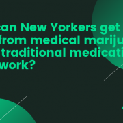 How can New Yorkers get pain relief from medical marijuana when traditional medications don't work?