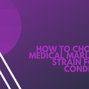 How to choose a medical marijuana strain for my condition?
