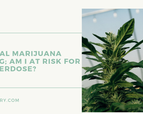 Medical Marijuana Dosing; Am I at risk for an overdose?