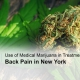 Medical marijuana back pain