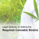 Getting cannabis strains legally